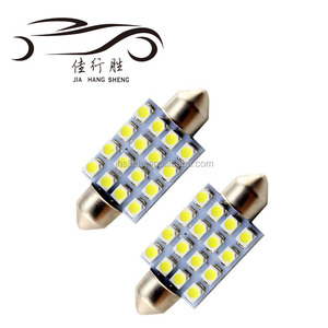 Hot Sale Festoon 1210 16SMD Canbus Auto Car Indicator Light Festoon 3528 Lamp 6000K
