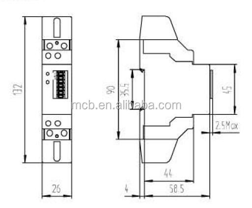 Single Phase Digital Energy Meter Price Good Ethernet