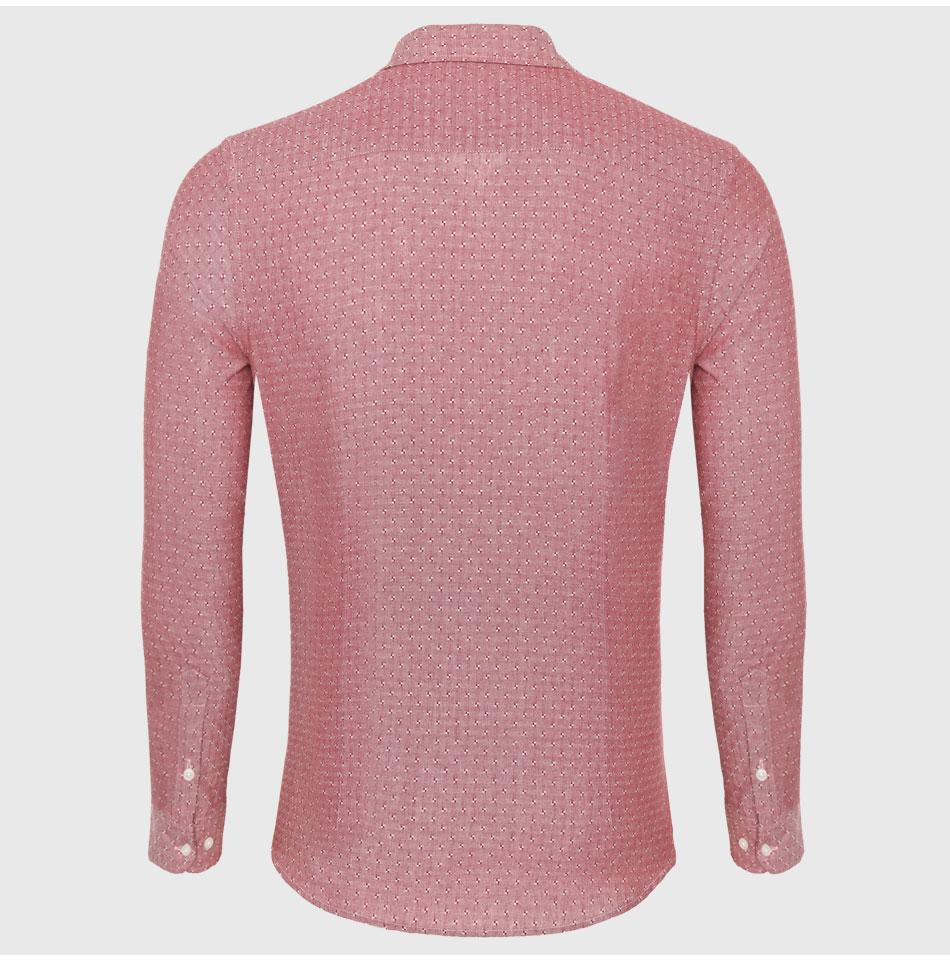 4bb385c7a39 China Linen Long Sleeve Shirt Men