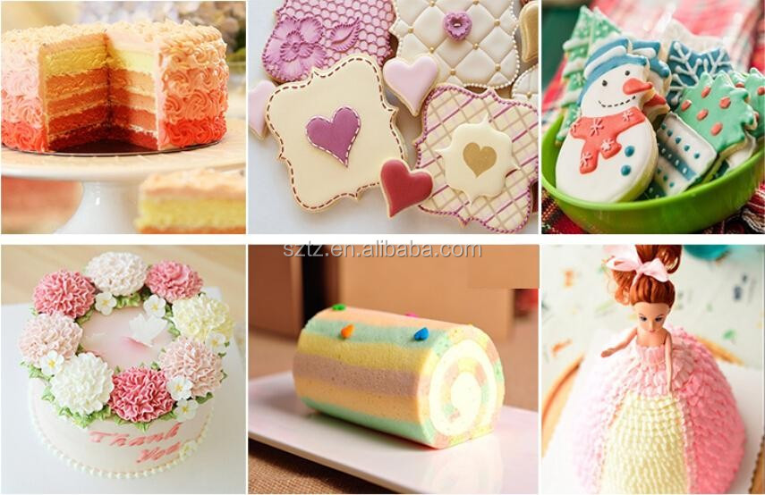 Gel Colors For Fondant & Bakery/ Macaron/ Decorative Cakes Used ...
