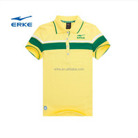 ERKE 2016 womens summer polo t-shirt womens custom polo shirt cheap cotton polo shirt for women OEM/wholesale China manufacture