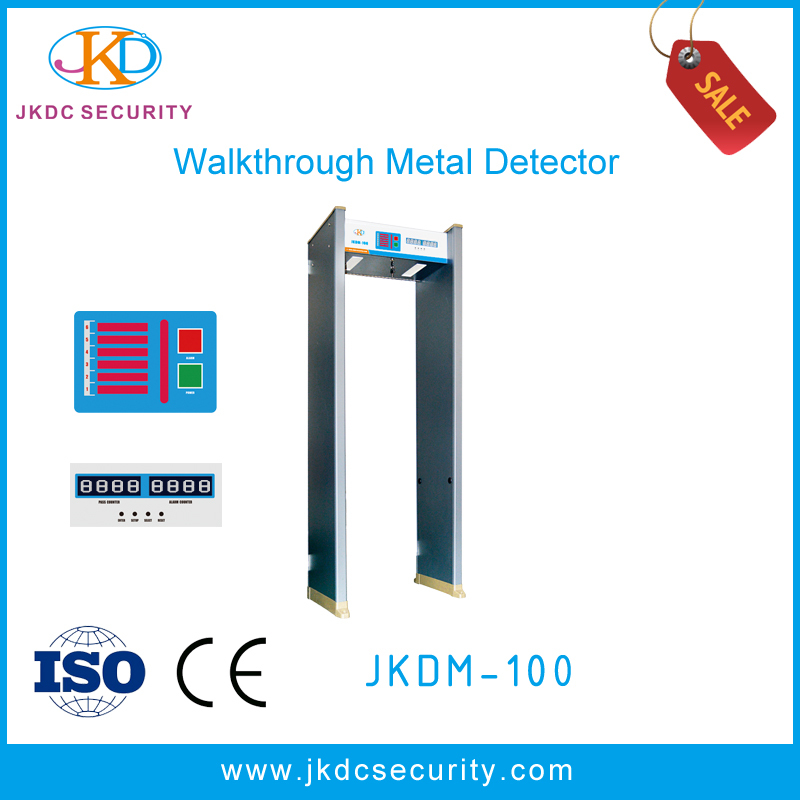 3D full body metal scanner, Walk through gold metal detector,