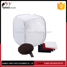 Best selling durable using different size optionable photography light tent 80cm
