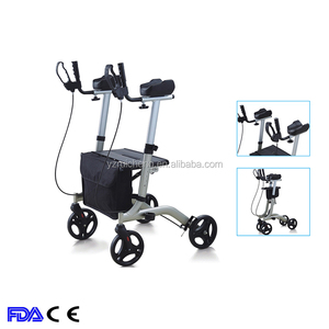 High Quality Adjustable rollator walker with seat for elderly
