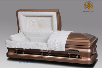 Color Code Stainless Steel Copper Color Casket From China Casket ...