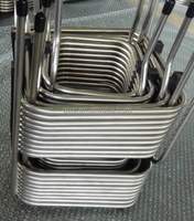 304 stainless steel SS Square-Shaped Tubing Coil for beer equipment