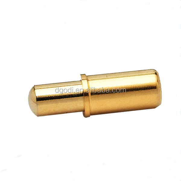 high precision custom made brass test probe pin Dongguan factory