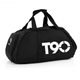 Online Market Nylon Large Capacity Foldable Outdoor Sports Bags Travel Duffle Bags Man Gym Bag