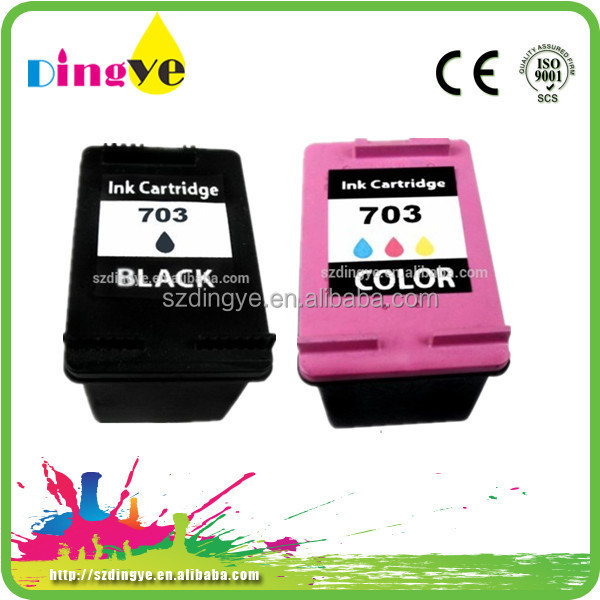 Best selling Jet Ink Cartridges Remanufactured Ink Cartridge for hp 703