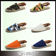 Wholesale Colorful Hemp Rope Sandals