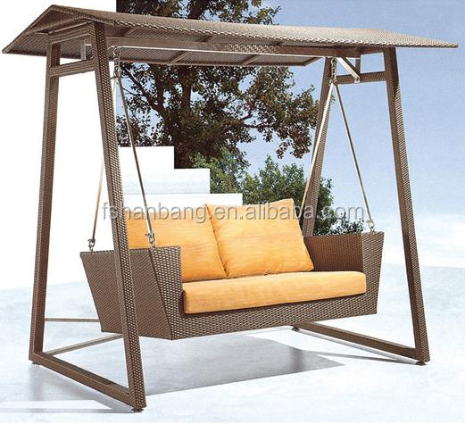 Garden Swings For Adults: Outdoor Rattan Garden Adult Swing Seat