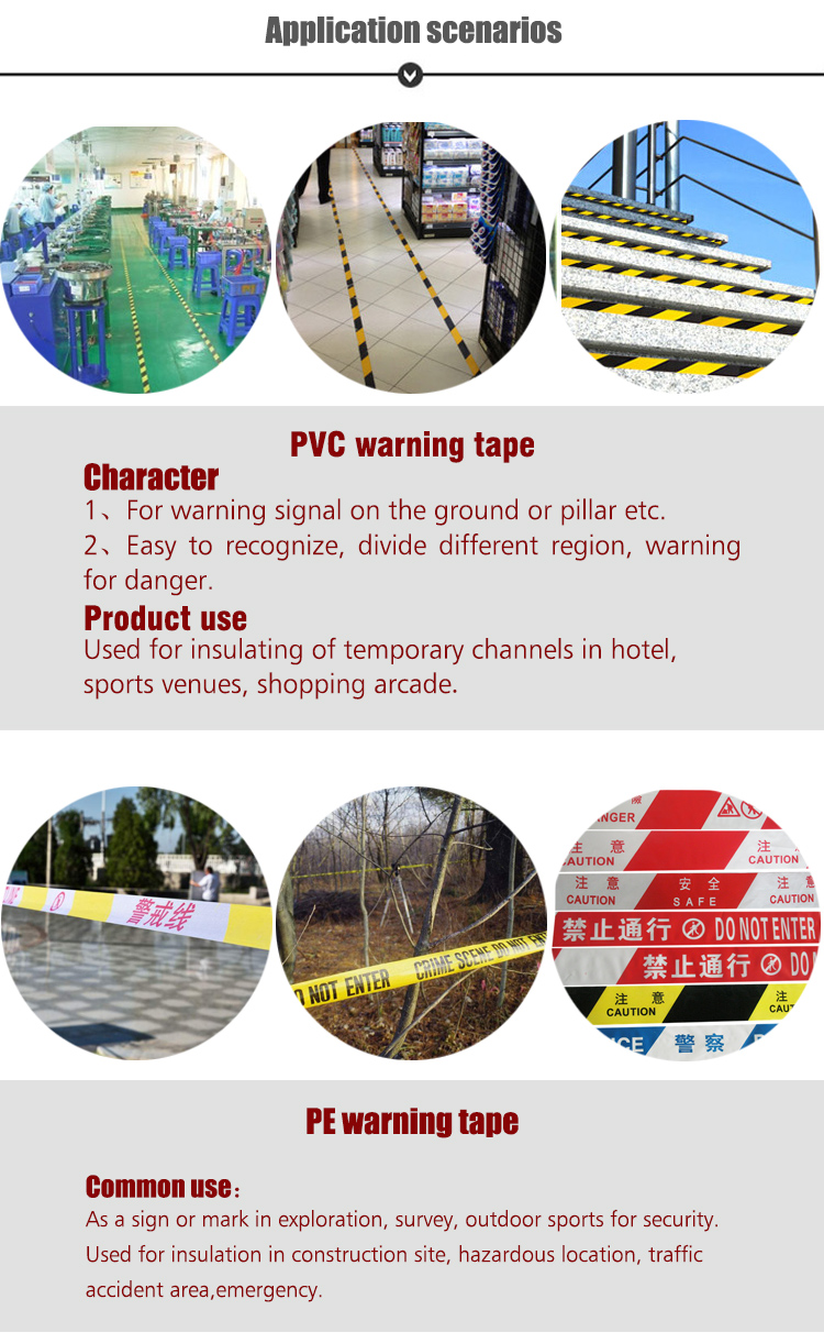 High Quality Durable Underground Cable Warning Tape