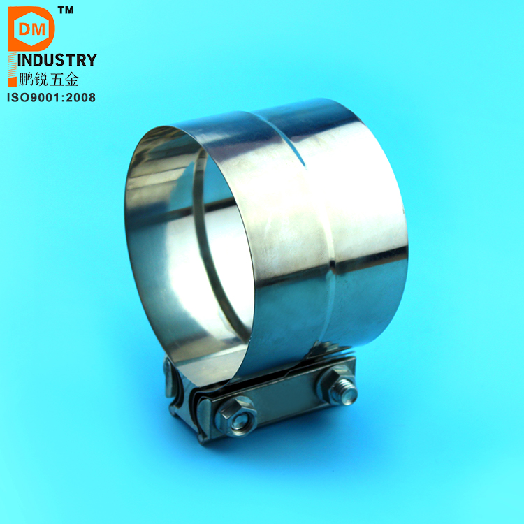 Stainless Steel Easy Seal Flat Band Exhaust Clamp