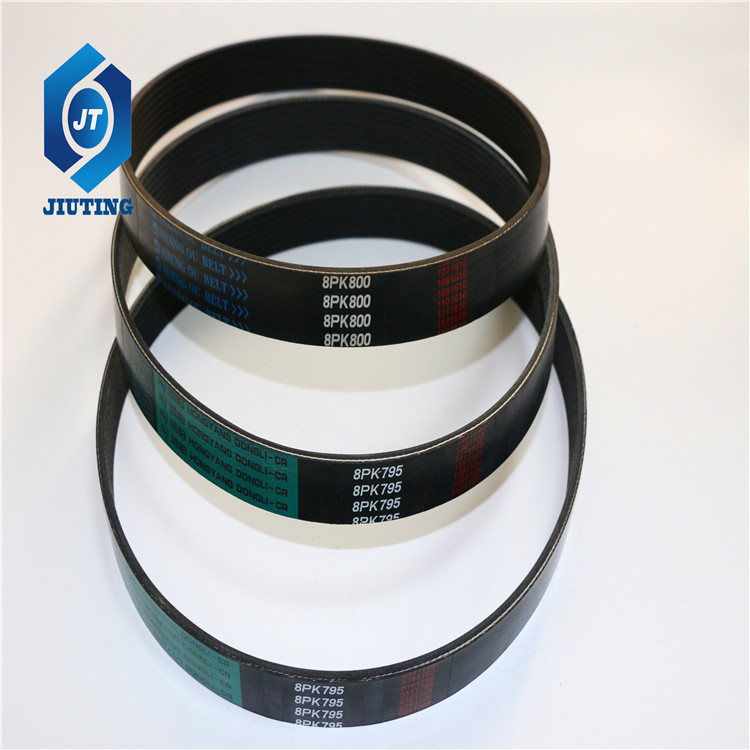 silicone rubber o-ring seal Poly v-belt ribbed belt