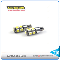 T10 9 pcs 5050 SMD canbus led auto lamp for indicator light