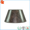 Special brown faux leather barrel indoors kitchen table decoration light shade