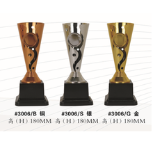 2017 hot new products awards plastic silver trophy cup