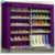 Modern Appearance all types of wine red color portable shoe rack