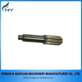 small transmission gears shaft steel shaft