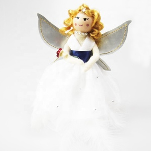 2019 new designed fashion christmas angel tree topper modern