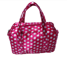fashion Satin Material cosmetic tote bag