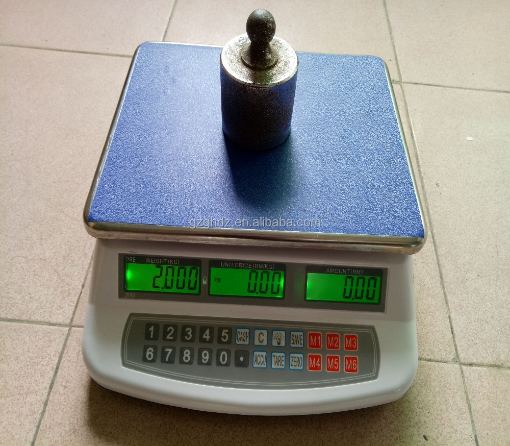 30kg ACS Price computing scale /Electronic desktop Scale/Popular Scale