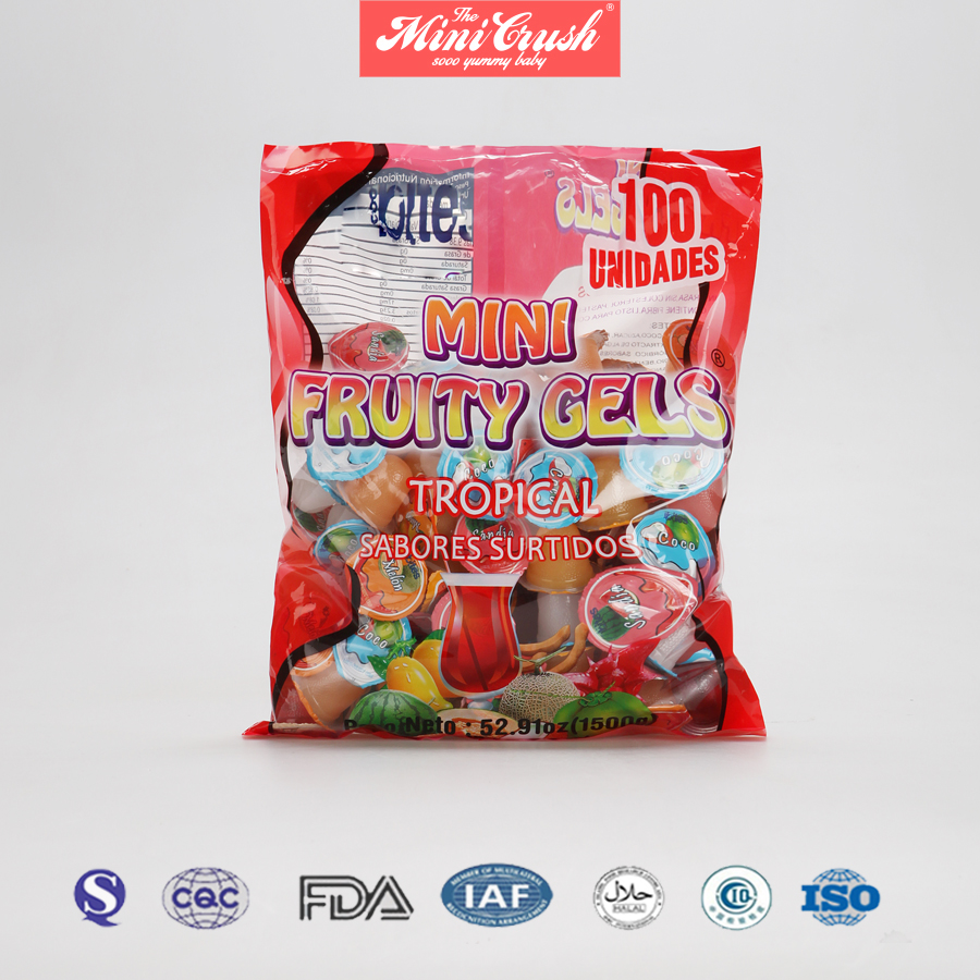 lychee coconut jelly,private label fruit snacks,yiwu fruit jelly cup candy