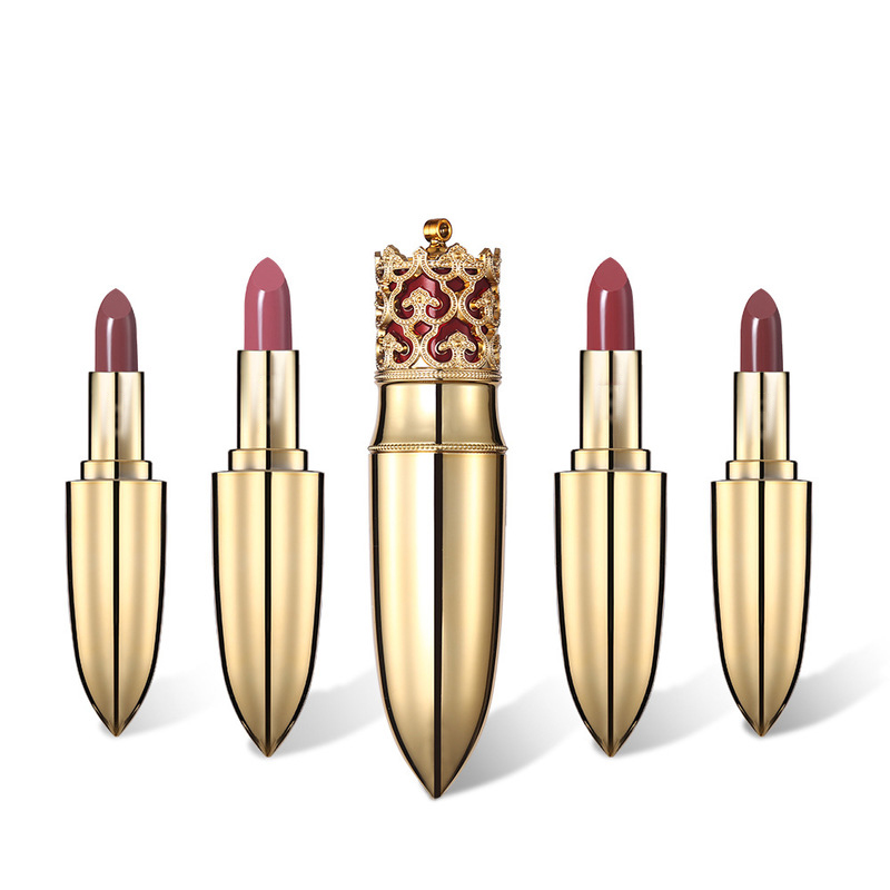 Private label crown göttin matte make-up lip stick wasserdicht lang anhaltende kosmetische lippenstift