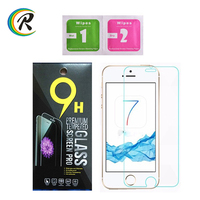 Clear mobile phone screen guard for apple 7 tempered glass protector