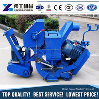 YG factory direct supply hook tyoe shot blasting machine clean width 550mm for sale