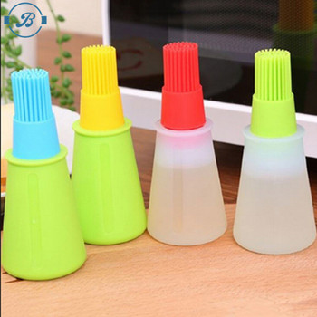 Wholesale food grade high quality silicone BBQ oil bottle brush