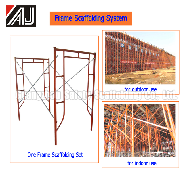 Multifunctional Frame Type Decoration Scaffolding For Construction