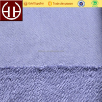 Combed brushed fleece knitted 100 cotton french terry fabric