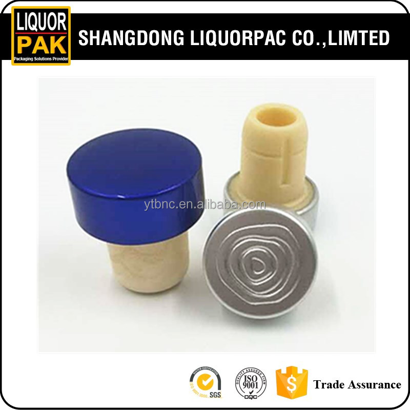 high quality t-shape synthetical bar cork top