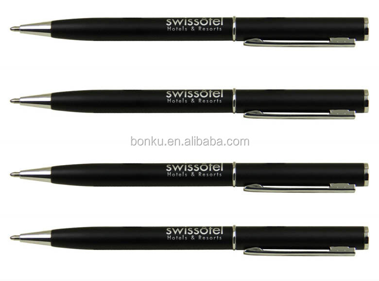 Brand Imprinted Gift Room Use Swissotel Hotels & Resorts Metal Pen ...