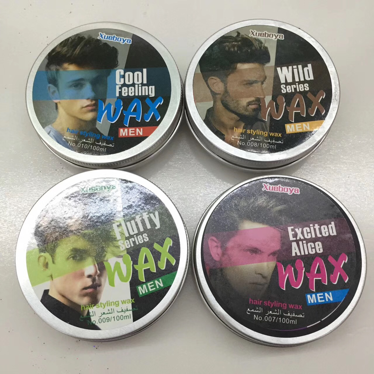Private label professionele haar wax hair gel voor mannen