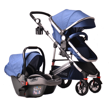 Original factory travel system baby stroller 3 in 1 with car seat