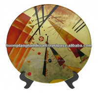 Picasso Pattern Plates - Nice Bussiness Gift- Cheap price High quality Lacquerware