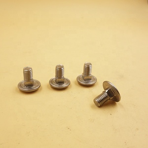 Factory price carbon steel stainless steel round head carriage bolt nut din603