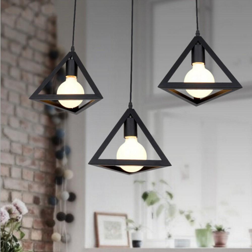 Personality Retro Edison Loft Pendant Lamp Indoor Dining