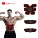 New Abdominal Muscle Toner Electronic Tens EMS Muscle Stimulator for Abdomen/Arm/Leg Training