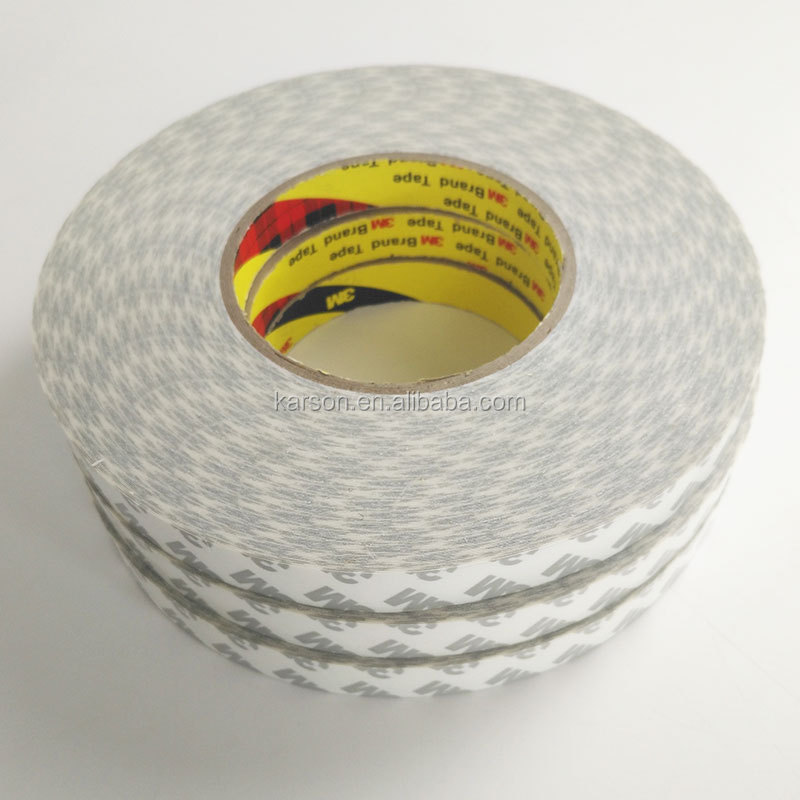 Putih, 0.16 Mm Tebal, 3M Double Coated Tissue Tape 9080HL