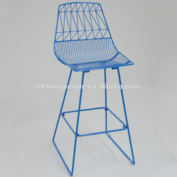 Harry Bertoia Steel Wire Bar Chair Counter Height Arrow Event Stool Wedding Metal