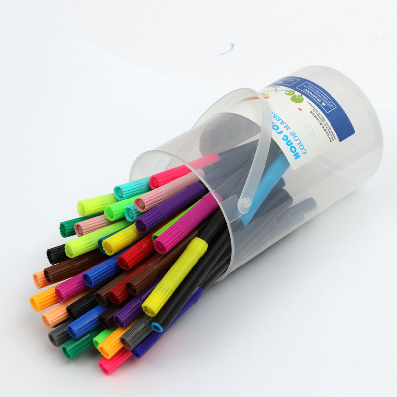 wholesale color marker pen 48 color non tonic safe water color pen set
