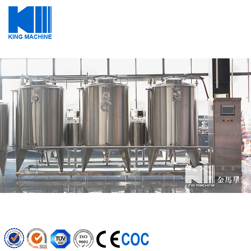 Automatic food grade Stainless Steel CIP Cleaning System