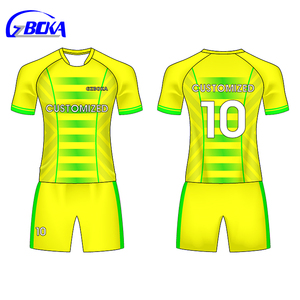 Custom team name uniform brazil 10 shirts soccer jersey kids