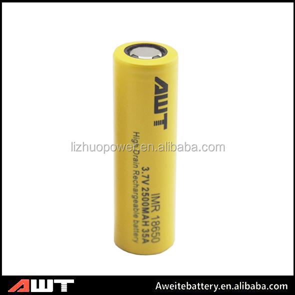 China Supplier 18650 Battey 2500mah Awt 12v 18650 Battery Pack 4v ...