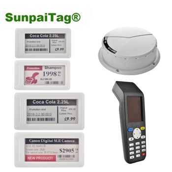 Sunpaitag e-ink display price tag ESLs Electronic shelf label demo kit