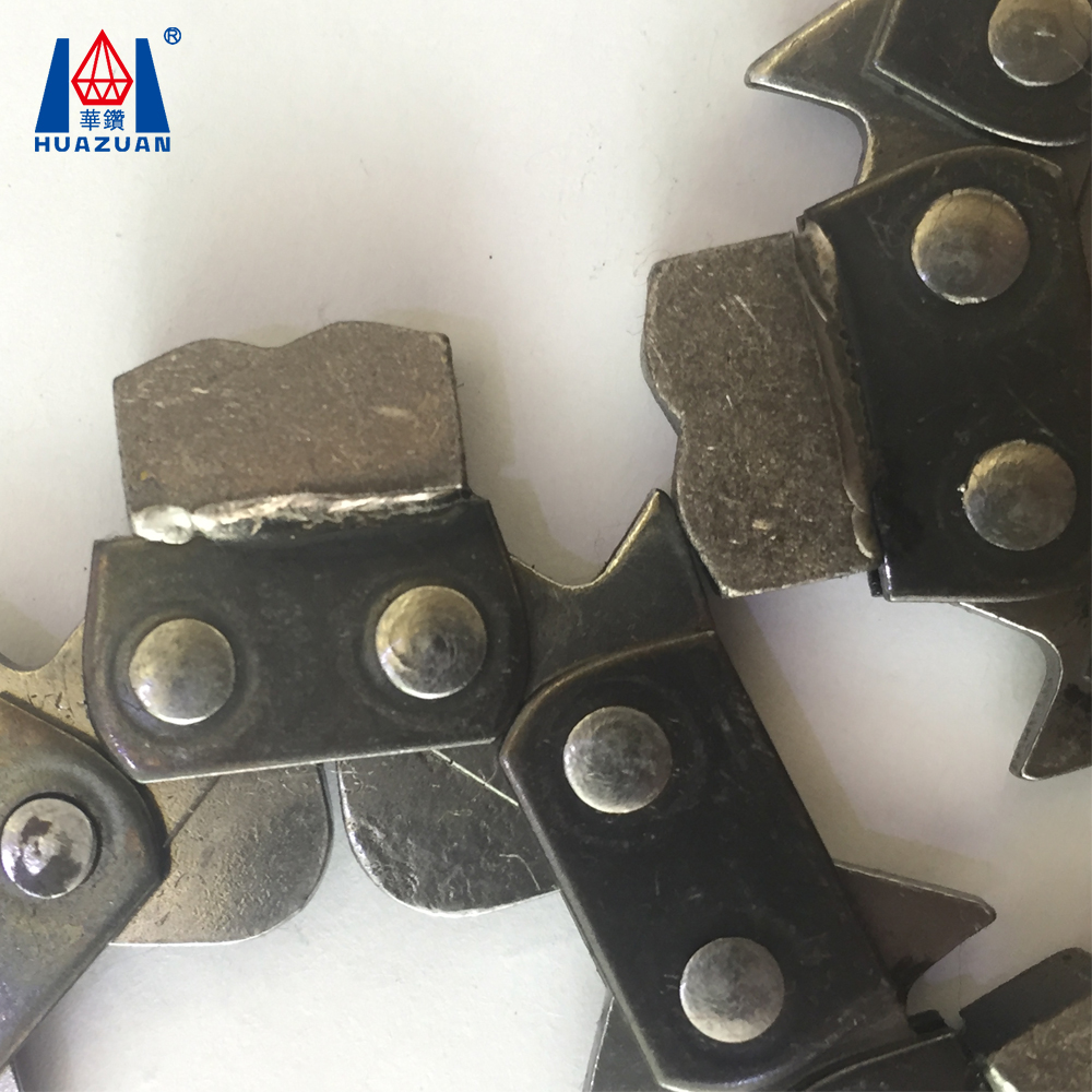 "3/8"" pitch guage 0.063"" diamond chain saw, silver saw chain gasoline chainsaw, chainsaw spare parts for cutting stone"