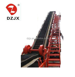 DZJX series steeply inclined belt conveyor or band conveyor